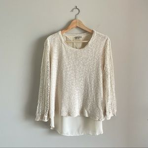 Lucky Brand Open Back Sweater